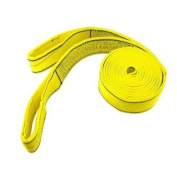 ProGrip 06602 9.1m x 7.6cm Polyester Flat Webbing Heavy Duty Recovery Strap with Loops