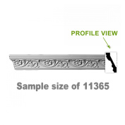 Cornice White Urethane Sample of 11365 60cm Long | Renovator's Supply