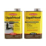 2 Part (A & B - 1 Pint Each) Liquid Wood Kit