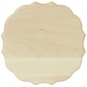 Basswood Thin Plaque 13cm X 18cm -Medallion
