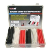 Grip 90 Piece Heat Shrink Wire Wrap Assortment