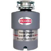 Franke FWD75 3/4 HP Continuous Feed Waste Disposer with 2700 RPM Magnet Motor
