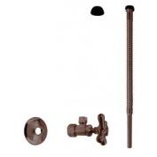 Westbrass D105K12X-12 Supply Kit - 1.6cm . OD x 1cm . OD x 30cm . Corrugated - Oil Rubbed Bronze