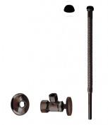 Westbrass D105K12-12 Supply Kit - 1.6cm . OD x 1cm . OD x 30cm . Corrugated - Oil Rubbed Bronze