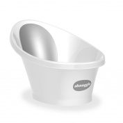 Shnuggle Bath - White With Grey Backrest