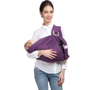 Kangaroobaby Baby Sling Wrap Carrier One Size Fits All Adjustable Pouch for Newborn to 15kg Eight Colour