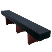 Hathaway 4.3m Black Synthetic Leather Shuffleboard Table Cover