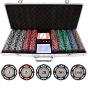 500-piece Z-Pro 13.5-gramme Clay Poker Chips