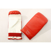 Defender Red/ White X-Large MMA Style Punching Gloves