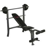 Sunny Health & Fitness SF-BH6510 45kg Weight Bench Set