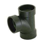 Ez-Flo 85492 10cm X 10cm X 5.1cm Sanitary Tee - ABS/DWV All Hub