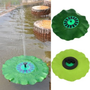 OriGlam® Solar Energy Pump Sun Powered Decorative Fountain with Highly Efficient Solar Panel and Brushless Pump