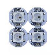 E-store 100pcs WS2812B 5050 RGB LED Chip & Heat Sink PCB Board 1-led LED Module Pixel Light 5v