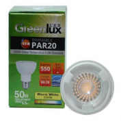 High Quality LED 6.5w Dimmable PAR20 Warm White Light Bulb - 50w Equiv.