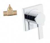Grohe K19385-29274R-000 Allure Volume Control Trim with Rough-In