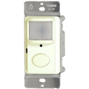 WESTGATE Vacancy Motion Sensor Wall Switch, 180 & #176;, Ivory
