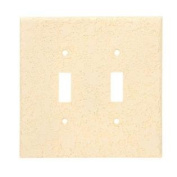Toggle Wall Plate 2 Gang Medium Ul Shrinkwrap Invisiplate KD-T-2 892785001163