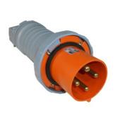 ABB Russelstoll ABB4100P12W IEC Plug 100A 3P 4 Wire 125/250V Pin & Sleeve