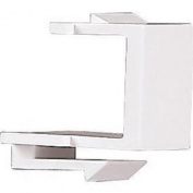 5550-5EV Ivory Solid Modular Quickport Wall Plate Blank Port Filler Insert