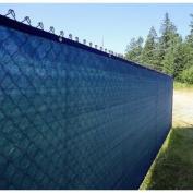 ALEKO 1.2m X 15m BLUE FENCE PRIVACY SCREEN OUTDOOR BACKYARD FENCING PRIVACY WINDSCREEN