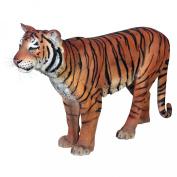 Powerful Pounce Sumatran Tiger Statue