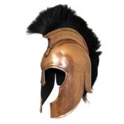 Antique Replica Trojan War Armour Helmet Finish