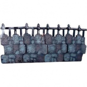 Rubies Costume Halloween Decoration Cemetery Club, Iron Fence Kit