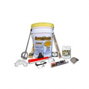EpoxyMaster EMX003 Do-It-Yourself Epoxy Floor Paint Coating Kit, Tan