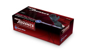 Diamond Gloves Advance Soft Nitrile Industrial Examination Grade Powder Free Gloves 5 mil Black, (Latex Free) (CE, FDA) (Maximum Protection