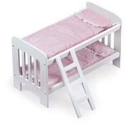 Badger Basket Doll Bunk Beds with Ladder