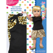 Springfield Collection Tank and Skirt-Leopard Print Skirt and Black Tank