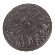 Hammered Collection 2.5cm - 1.3cm . Oil Rubbed Bronze Round Cabinet Knob
