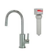 Mountain Plumbing MT1843FIL-NL/PVDBRN Contemporary Mini Drinking Faucet and Mountain Pure Water Filtration System with R