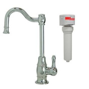 Mountain Plumbing MT1873FIL-NL/CPB Traditional Mini Point-of-Use Drinking Faucet and Mountain Pure Water Filtration Syst