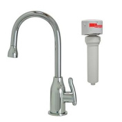 Mountain Plumbing MT1803FIL-NL/CPB Point-of-Use Drinking Faucet and Mountain Pure Water Filtration System with Wine Bott