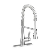 American Standard 4433.350.002 Quince Semi-Professional Single Lever Handle Kitchen Faucet, Polished Chrome