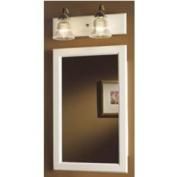 NuTone 8128 Framed Prairie Single-Door Recessed Medicine Cabinet