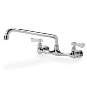 Commercial Kitchen Restaurant Faucet 20cm Centre Splash-mount Faucet w/ 30cm Spout