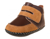 Little Blue Lamb Boys' First Walking Shoes Brown brown 12-18 Months