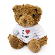 NEW - I LOVE EDWARD - Teddy Bear - Cute And Cuddly - Gift Present Birthday Xmas Valentine