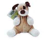 Kuddleez Animal Heat Pack - Dog Microwaveable Wheat Pack Soft Childrens Toy 28 x 26 cm