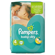 Pampers Baby Dry Size 4 (Maxi) 7 to 18 kg Nappies