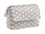 Mora Ferre S.L. 98005-01 Changing Bag Cotton with Large Dots, Blue