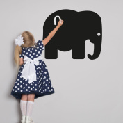 Elephant chalkboard wall sticker