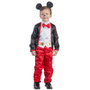 Dress Up America Boys' Charming Mr. Mouse Costume