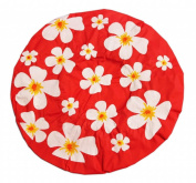 Red Shower Cap Shower Cap - Floral