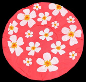 Luminous Pink Shower Cap Shower Cap - Floral