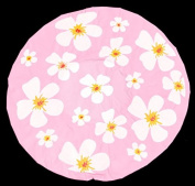 Shower Cap Shower Cap Pink Flower Design