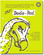 Dodo Pad Loose-Leaf Desk Diary 2017 - Week to View Calendar Year Diary