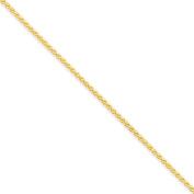 14K Yellow Gold 1.80mm Spiga Chain Bracelet - Fine Jewellery Gift